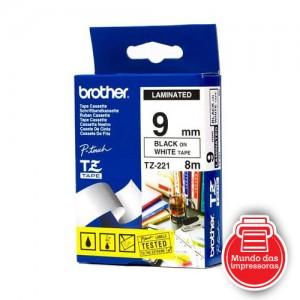 FITA BROTHER - TZ221 (9MM - PRETA/BRANCA)